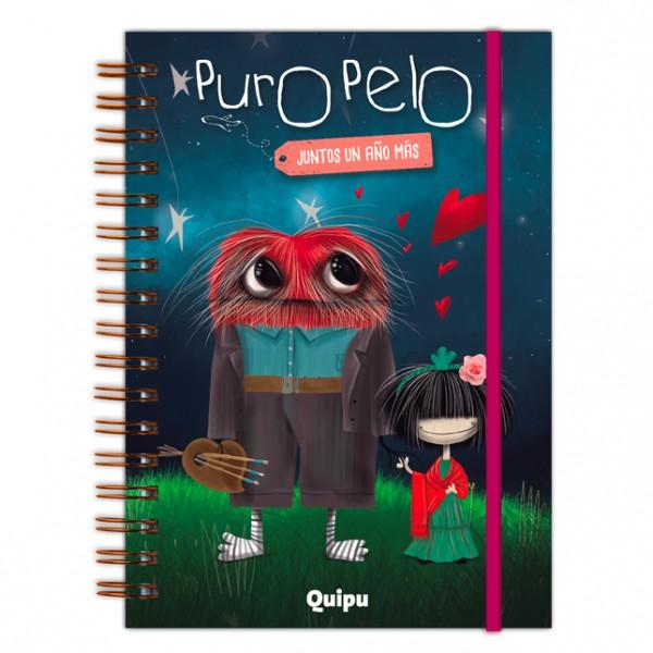 LIBRO AGENDA - PURO PELO, JUNTOS UN AÑO MÁS