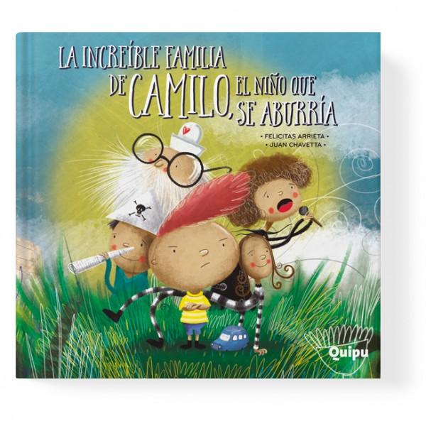 La increíble familia de Camilo, el niño que se aburría