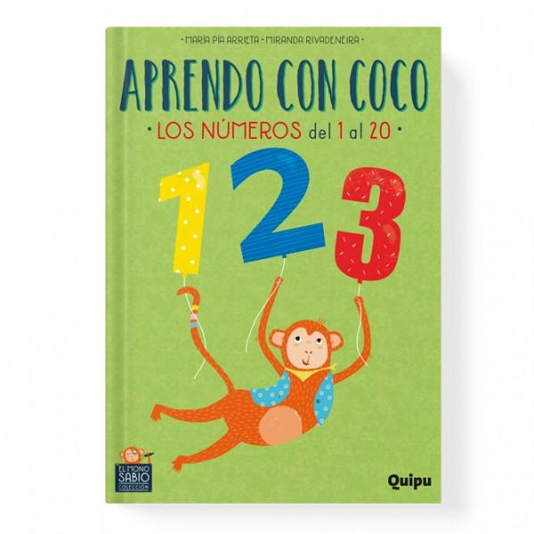 Aprendo con Coco - Los números del 1 al 20