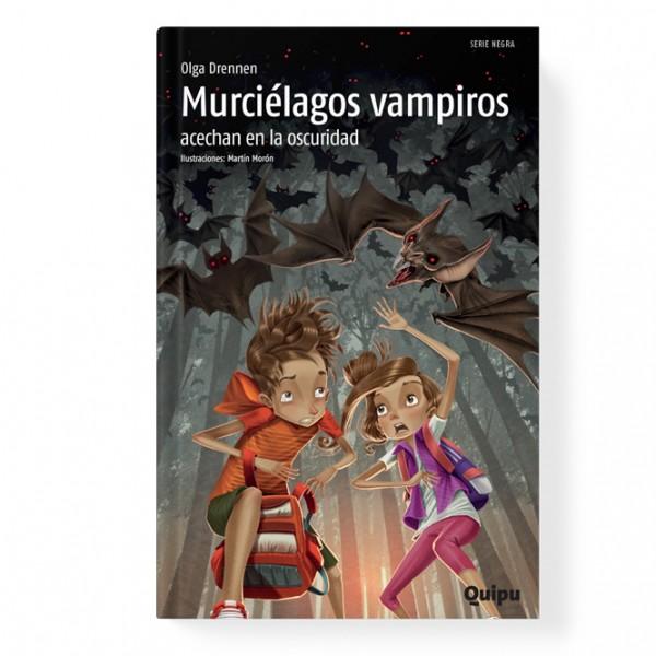 Murciélagos vampiros acechan en la oscuridad