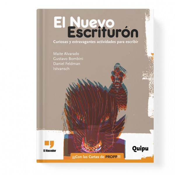 El Nuevo Escriturón. Curious and extravagant activities to write